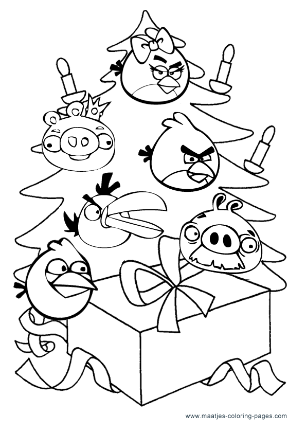 15 Best Printable Angry Birds Colouring Pages for Kids