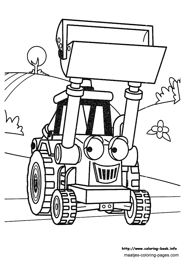 Bob The Builder Coloring Book Pages | Coloring Pages For Kids ... | 842x595