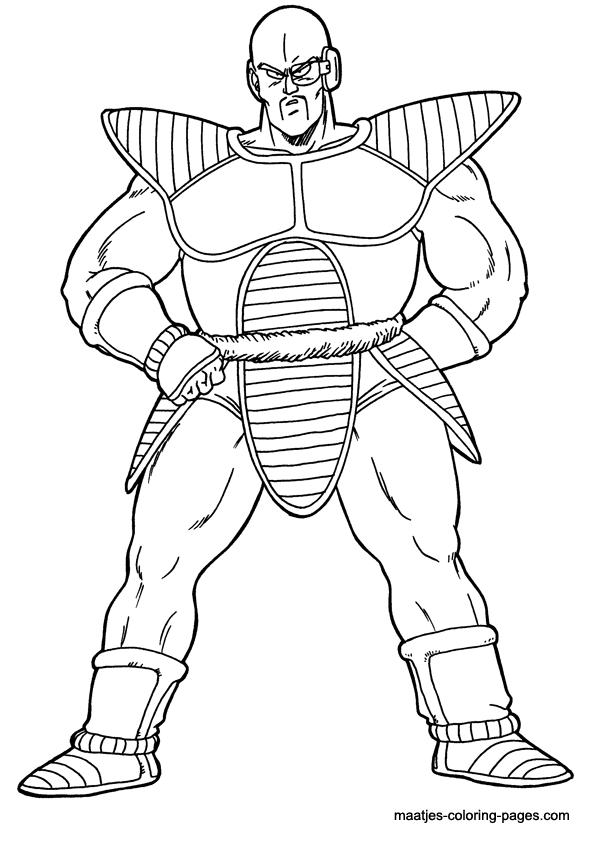Dragonball coloring page