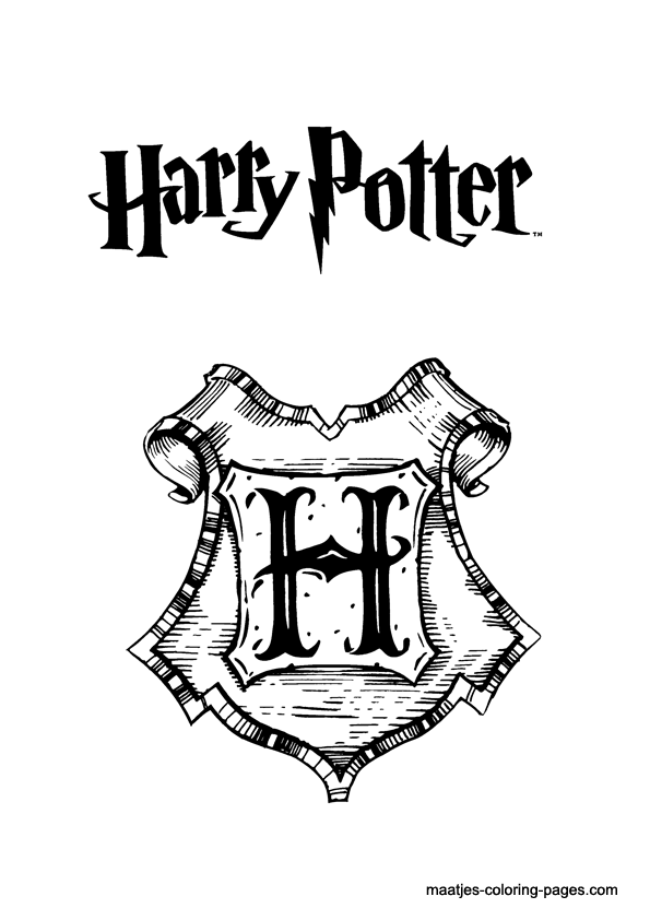 Free harry potter coloring book pages you can print and color