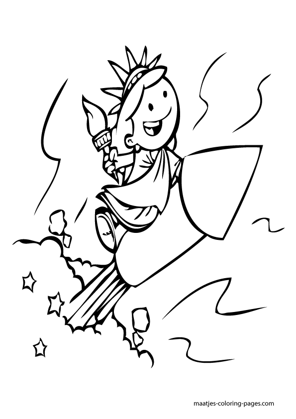 California independence coloring page coloring pages for Independence day coloring pages