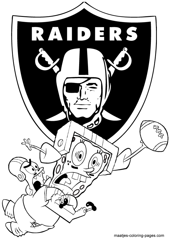raiders coloring pages - photo#13