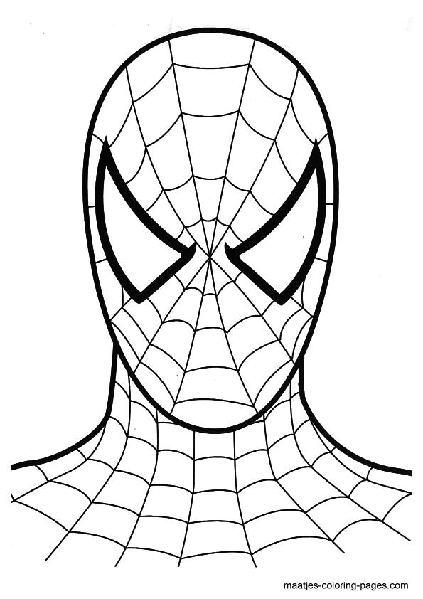 Kleurplaten Spiderman 3.Spiderman Coloring Pages Overview 1