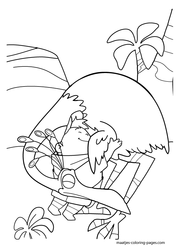 Free coloring pages of up and down for Robert munsch coloring pages