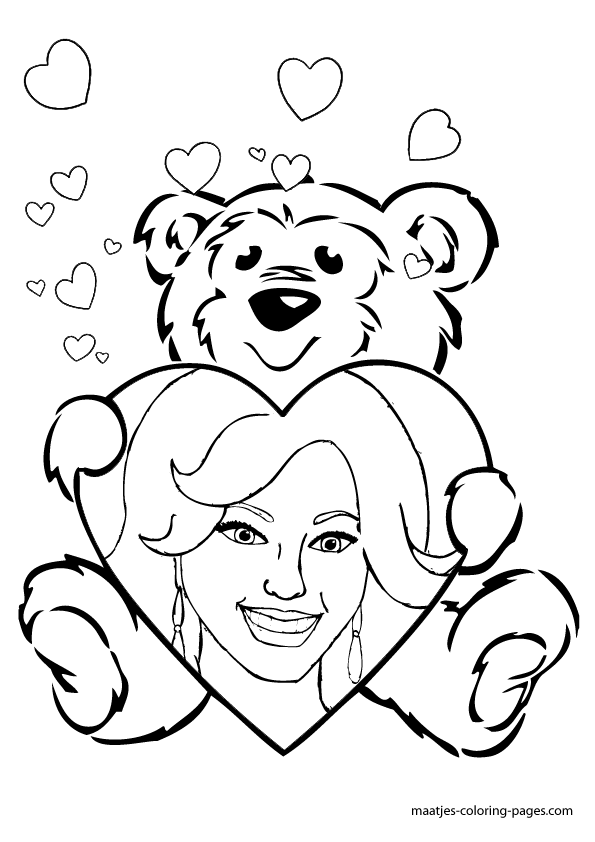 Beyonce Valentines Day Coloring Pages