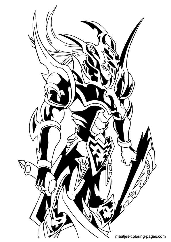 Joey Wheeler from Yu-Gi-Oh! coloring page | Free Printable ... | 842x595