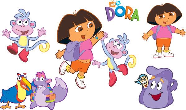 Dora Kleurplaten Kleuren.Dora Kleurplaat Nickelodeon Kleurplaten