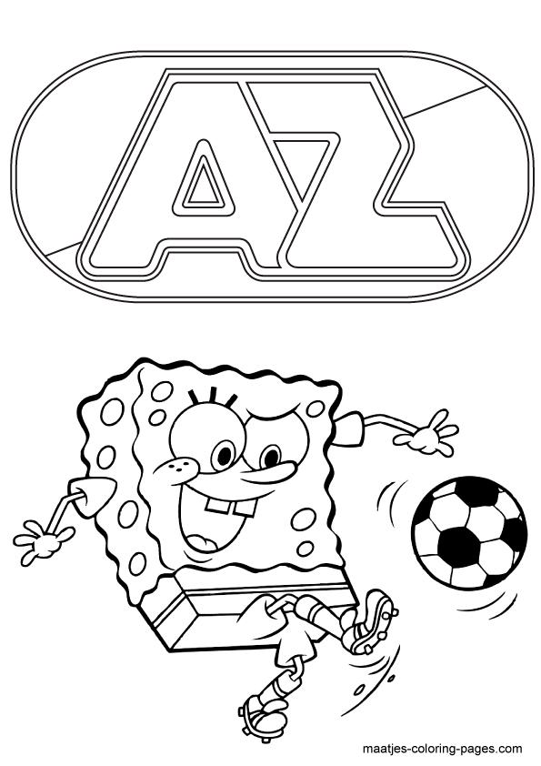 kleurplaten voetbal eredivisie