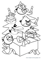 Your De Best Familie Kleurplaat Christmas Angry Birds Coloring Pages For Kids