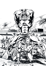 Kleurplaten Hulk.Hulk Coloring Pages Overview 1
