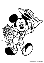 Mickey Mouse Coloring Pages To   Mickey coloring pages, Mickey ...   212x150