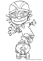 Rocket Power coloring pages