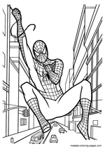Venom Spiderman Kleurplaten.Spiderman Coloring Pages Overview 1